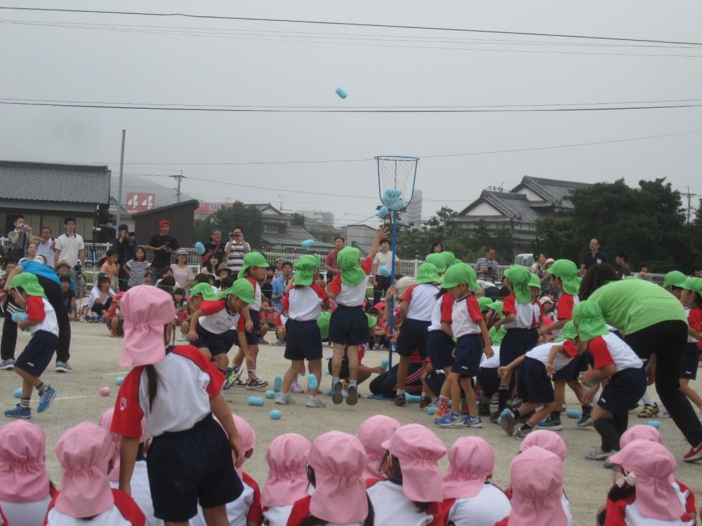 運動会(土曜日に雨が降って、続きを日曜日に行いました)