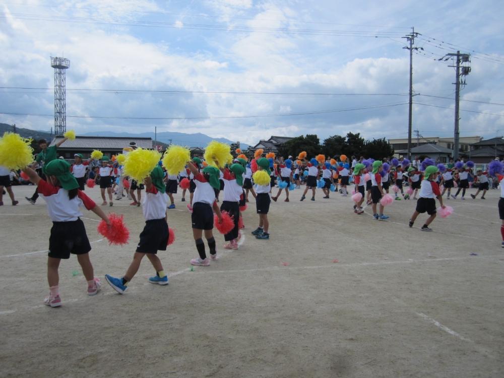 子どもの運動会