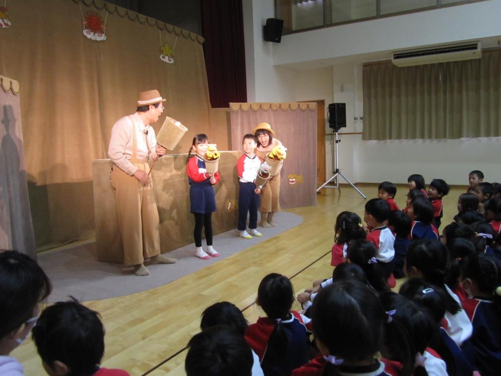 人形劇の観劇会